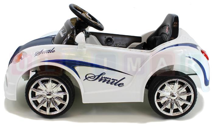 voiture pour enfants smile voiture lectrique v hicule. Black Bedroom Furniture Sets. Home Design Ideas