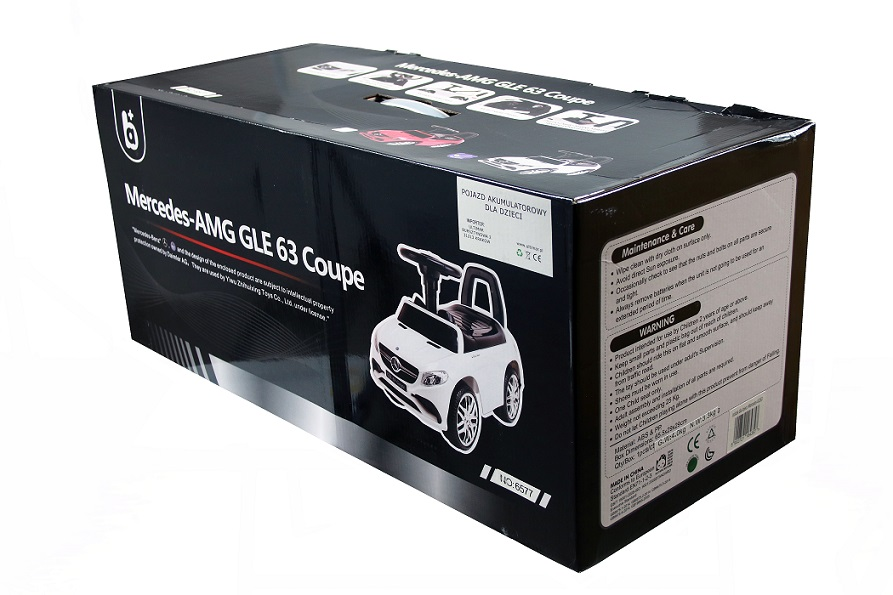 voiture sans p dales mercedes benz gle63 coupe porteur pour enfants v hicule ebay. Black Bedroom Furniture Sets. Home Design Ideas