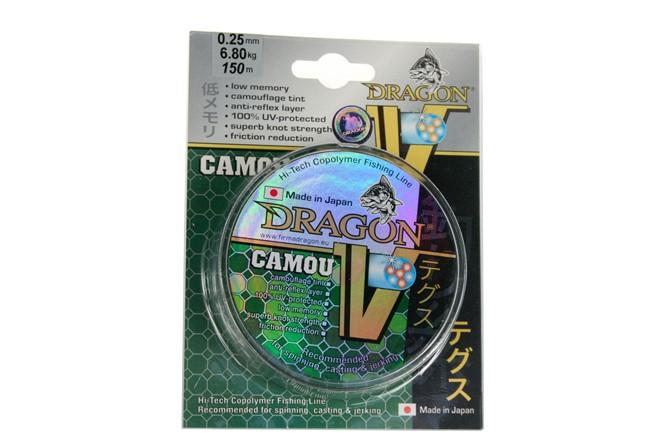 Angelschnur TEAM DRAGON INVISIBLE 0,16-0,35mm//150m Monofile mit Fluorocarbon
